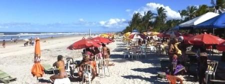 Strand,Canavieiras,Bahia,Brasil
