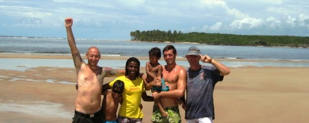 einsame Bucht in Bahia, Schwarzmeiers Tours,Bahia,Brasil