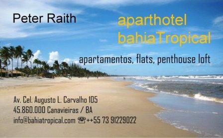 FeWo bahiatropical Canavieiras Bahia Brasilien