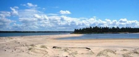 Insel Atalaia in Canavieiras / Bahia / BRASILIEN