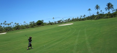 18 Loch, Golf in Bahia, Brasilien